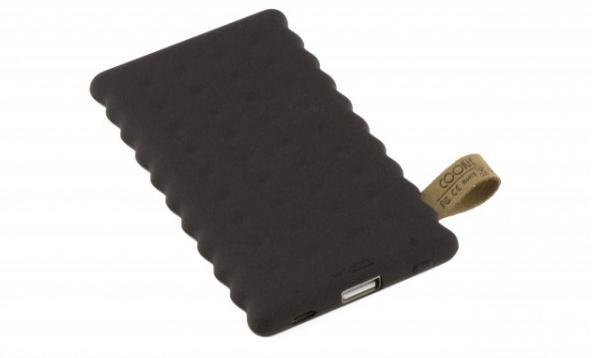 Přenosná PowerBanka Cookie 4000mAh Vám nabídne netradiční vzhled a malé rozměry.
