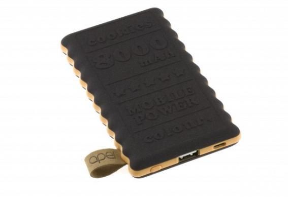 Externí nabíjecí baterie s kapacitou 8000mAh Vám dobije kdykoliv na cestách vaše elektronické přístroje s microUSB konektory.
