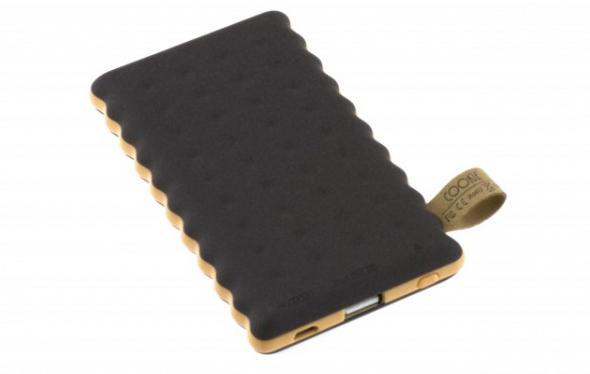 Přenosná PowerBanka Cookie 8000mAh Vám nabídne netradiční vzhled a malé rozměry.