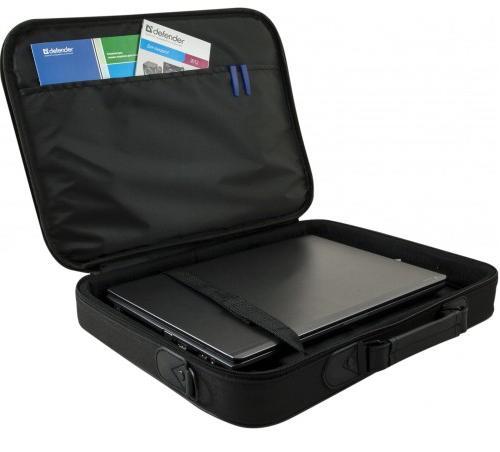 """Taška Defender Ascetic je praktická a designově povedená brašna na všechny notebooky s úhlopříčkou 15– 16""""."""