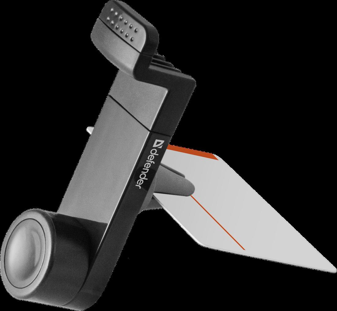 """Speciální měkké úchyty držáku nabízejí uchycení zařízení do velikosti 7"""" s rozsahem od 50 do 105mm. Univerzální stojan je možné uchytit do ventilační mřížky ve Vašem voze."""