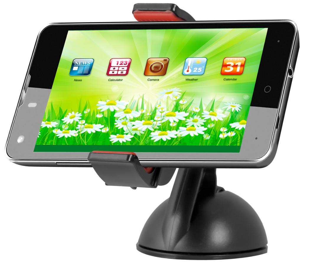 Univerzální držák do auta Defender Car holder 104+ je určen pro tablety, mobilní telefony, smartphone, PDA, e-book readery, GPS navigace apod.