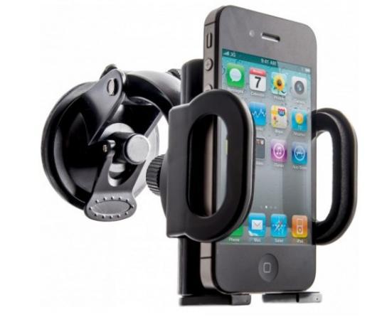 Univerzální držák Defender Car holder 101+ je určen pro mobilní telefony, smartphone, PDA, e-book readery, GPS navigace apod.