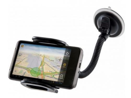 Univerzální držák Defender Car holder 111 je určen pro mobilní telefony, smartphone, PDA, e-book readery, GPS navigace apod.