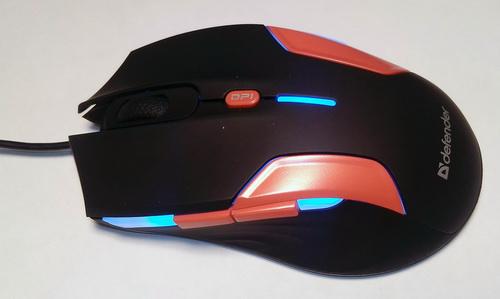 Herní USB myš Defender Warhead GM-1110 je skvělou volbou pro začínající hráče, ale uspokojí i ostřílené herní fanoušky.