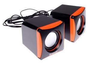 Reproduktory USB Defender SPK 490 nabízí jednoduchý a moderní design v černo-oranžovém provedení.