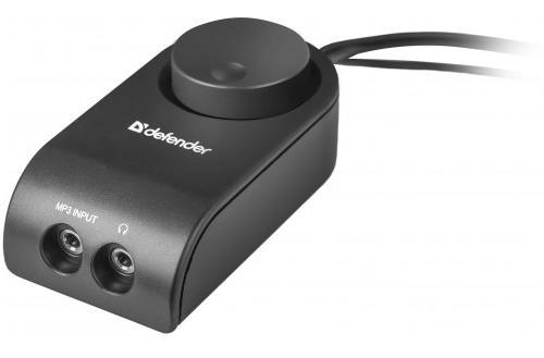 Drátový dálkový ovladač pro snadné ovládání hlasitosti reproduktoru s 3,5 jack vstupem pro sluchátka a MP3 input.