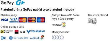 Online platby přes zabezpečenou platební bránu GoPay - Visa, MasterCard, Maestro, KB, mBank, Fio, GE Money Bank, Raiffeisen Bank, Volksbank i bankovní převod z pohodlí domova u MP3naMiru.cz