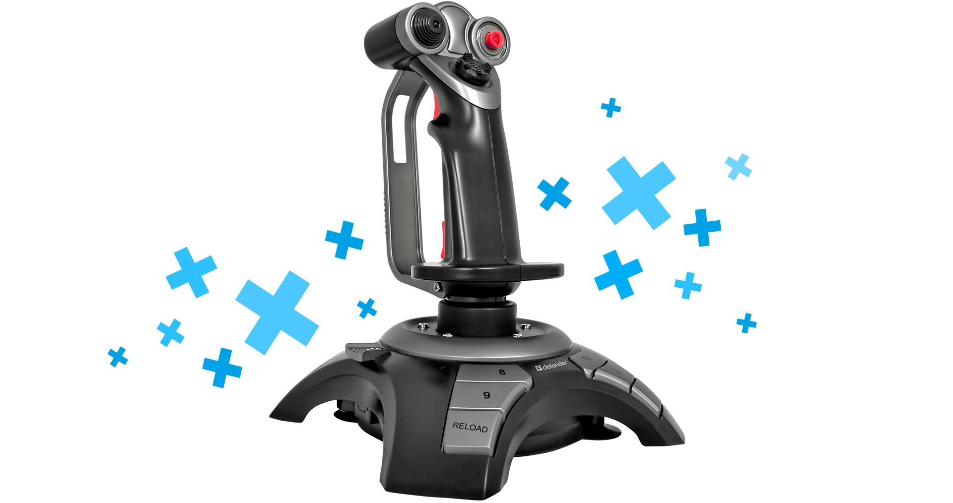 Cenově dostupný herní joystick Defender Cobra R4 je kombinací dobré výbavy, solidního provedení a zajímavé ceny.