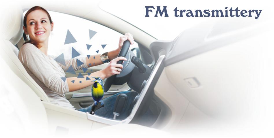 Fm transmittery do auta s USB, SD, microSD vstupem, 3.5 jack AUX Line-In, bluetooth, RDS, dálkový ovladač nebo i pohodlné hands free. MP3/MP4 do Vašeho auta přes 12V CL zásuvku.