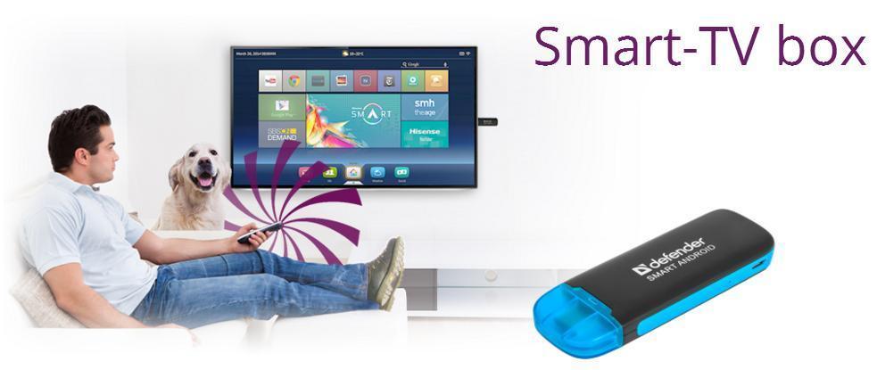 Multimediální Tv smart Android adaptér USB pro televize.