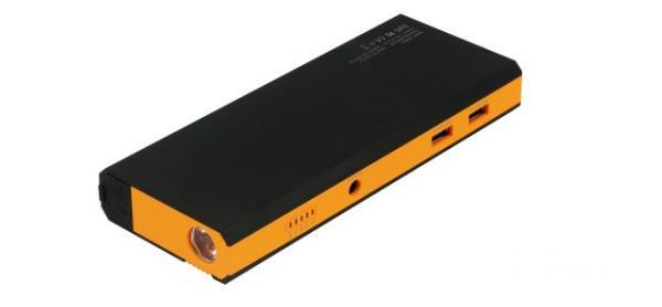 Přenosná PowerBanka Buffalo 8000mAh Vám nabídne dva napájecí USB porty, LED signalizační diody a praktickou svítilnu.