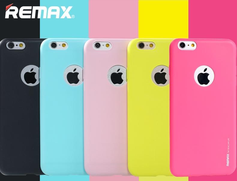 Unikátní ochranný silikonový obal Jelly od Remax pro Apple iPhone si vyberete z více barevných provedení.