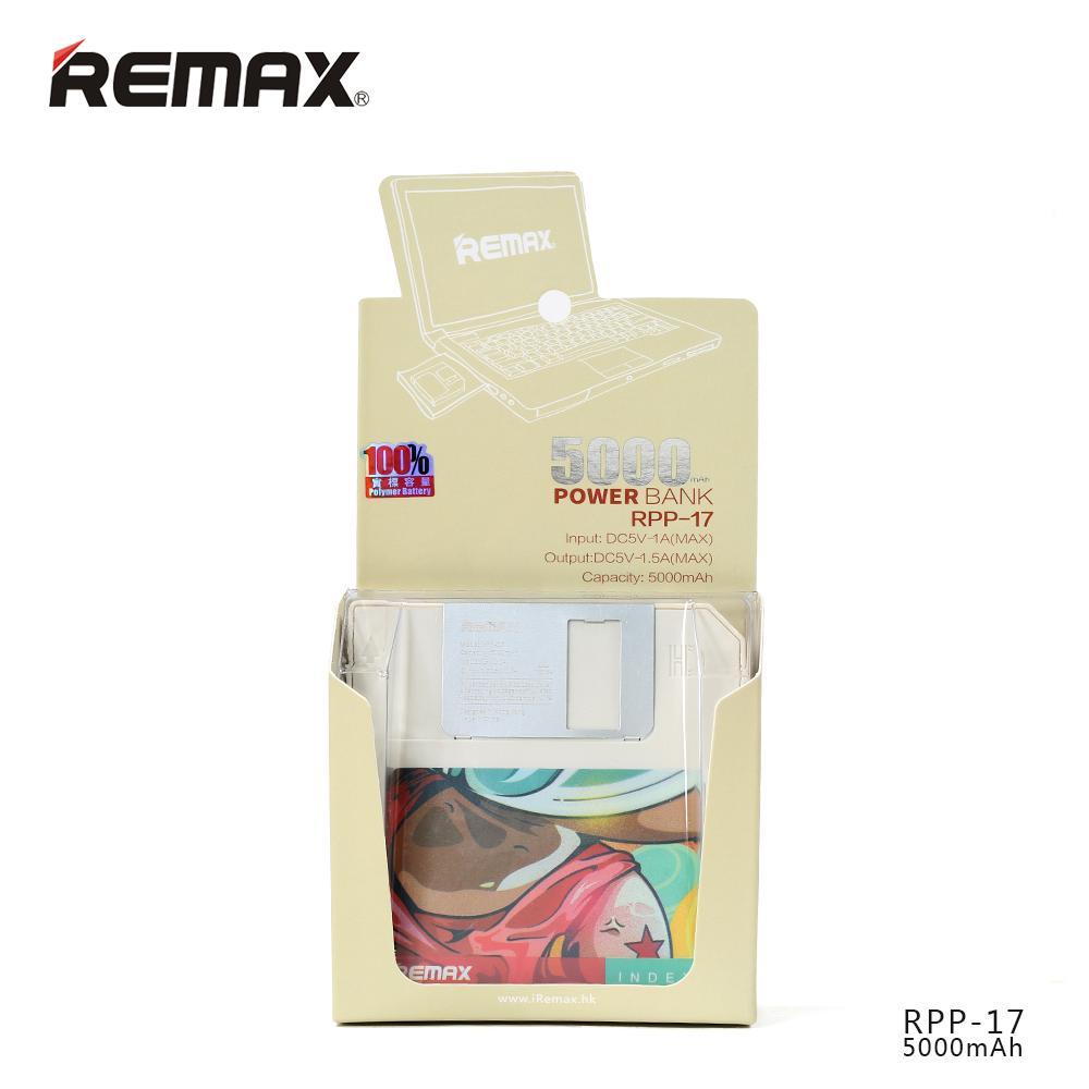 Externí nabíječka Remax PowerBank má vestavěnou Polymer baterii s kapacitou 5000mAh.