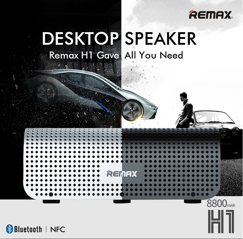 Přenosný reproduktor Remax X2 mini je skvělým řešením pro bezdrátový poslech hudby z chytrých telefonů, tabletů a hudebních přehrávačů kdekoliv v přírodě nebo na cestách.