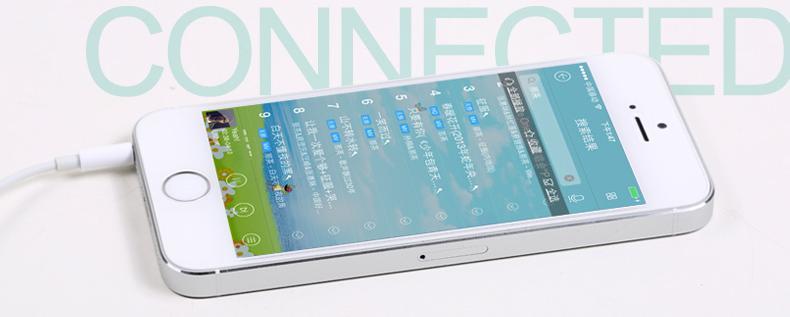 Přenos hudby zajišťuje bezdrátové připojení Bluetooth verze 3.0.