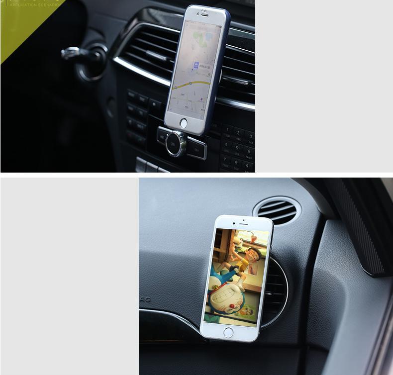 Magnetický držák od Remaxu si navíc zachovává i vlastnost klasických držáků, disponuje 360° rotačním kloubem, takže si můžete mobilní telefon natočit, jak budete chtít.