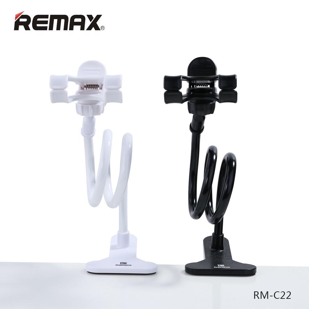 Maximálně flexibilní držák pro mobilní telefony od značky Remax je lehký, velmi kompaktní a jednoduše ho přizpůsobíte podle jakékoliv situace.