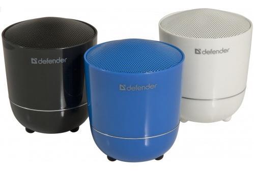Defender bedničky na Bluetooth s vlastní napájecí baterií pro rychlé a snadné používání.