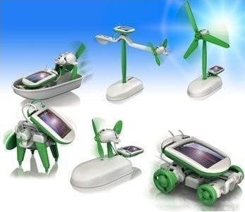 Na výběr máte z 6 modelů: loď, větrný mlýn, štěně, auto, letadlo a otáčejicí letadlo.