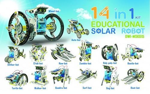 Hledáte stavebnici, která využívá obnovitelnou energii a chtěli byste, aby měla ještě něco navíc? Potom rozhodně stojí za zmínku tato Solární stavebnice 14 v 1, která Vás svými funkcemi může příjemně překvapit.