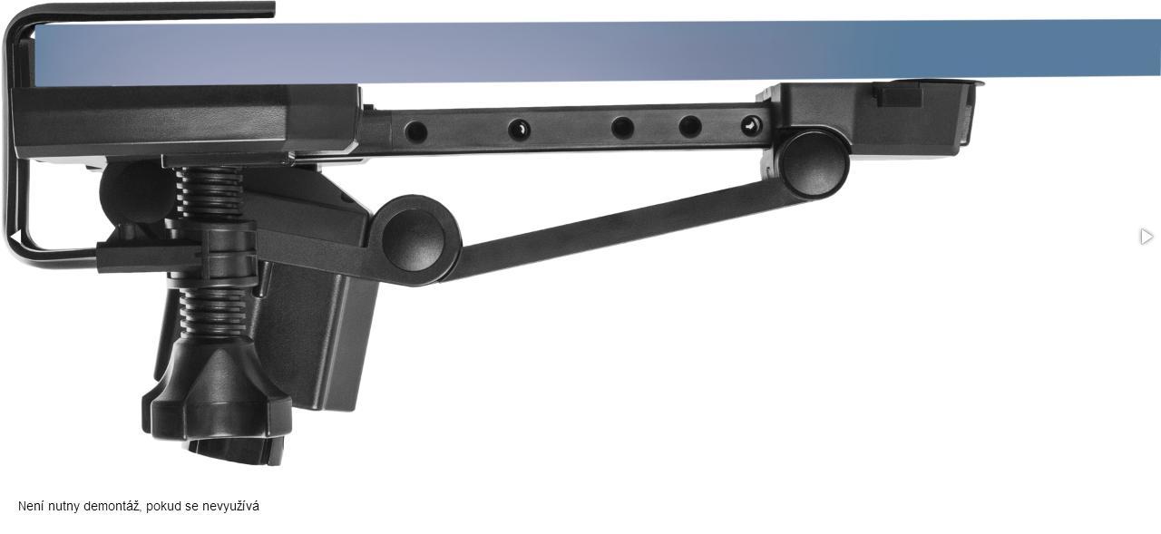 Jednoduchá skladovatelnost herního volantu USB Forsage Sport Vás jednoznačně ohromí.