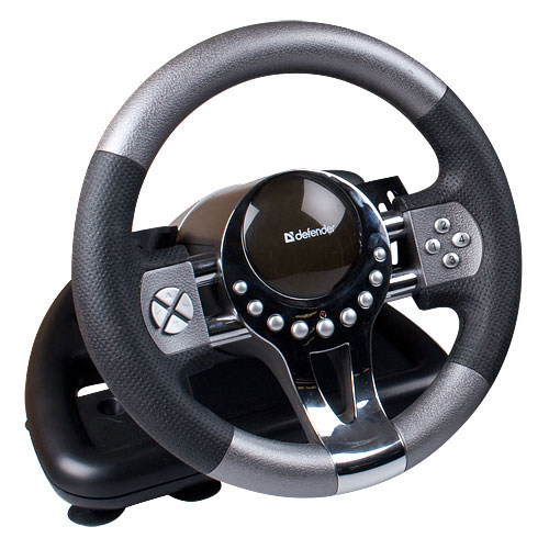 Jakmile uchopíte jeho pogumovaný povrch a ucítíte vibrace při jízdě, budete si připadat, jako byste byli opravdovými účastníky závodu!