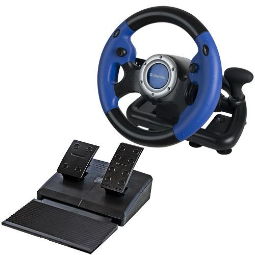 Herní USB volant k počítačí pro správné závodníky!